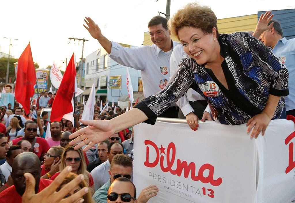 Dilma vai para rua contra imagem de 'encastelada'