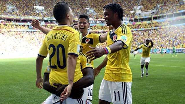 Colômbia vence Costa do Marfim e fica perto das oitavas