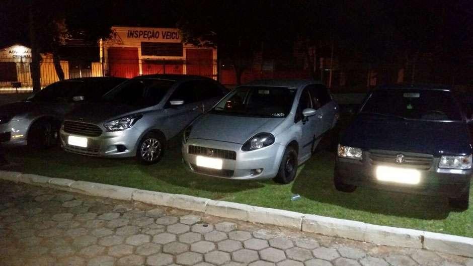 Cinco são presos em operação contra quadrilha especializada em desmanche de veículos