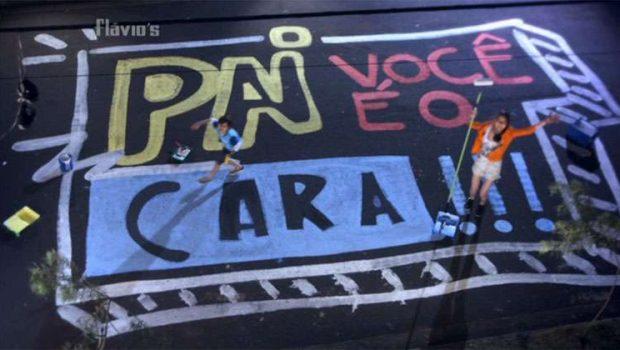 Flávios lança campanha e promove manifesto de amor aos pais