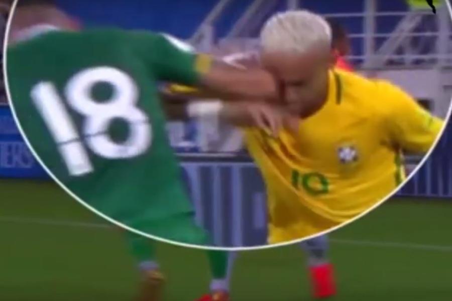 Boliviano que deu cotovelada em Neymar critica soberba do brasileiro