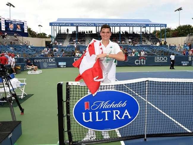 Raonic ultrapassa Ferrer no Top 10 após título nos EUA