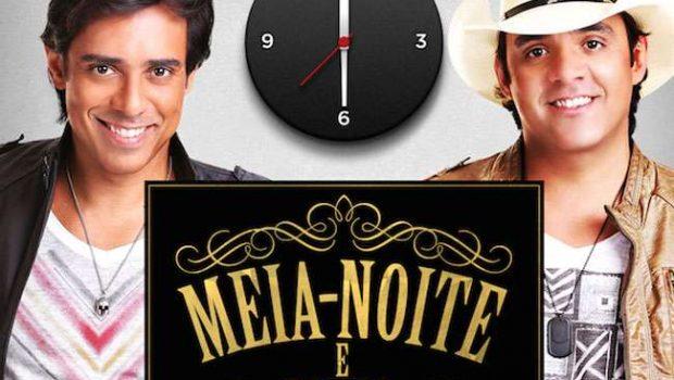 """Guilherme e Santiago divulgam a música """"Meia noite e meia"""""""