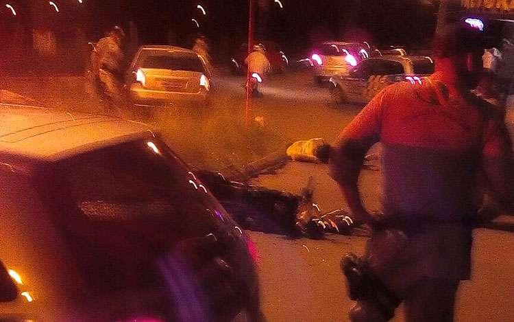 Um bandido morreu e outro ficou gravemente ferido após perseguição na Região Noroeste de Goiânia