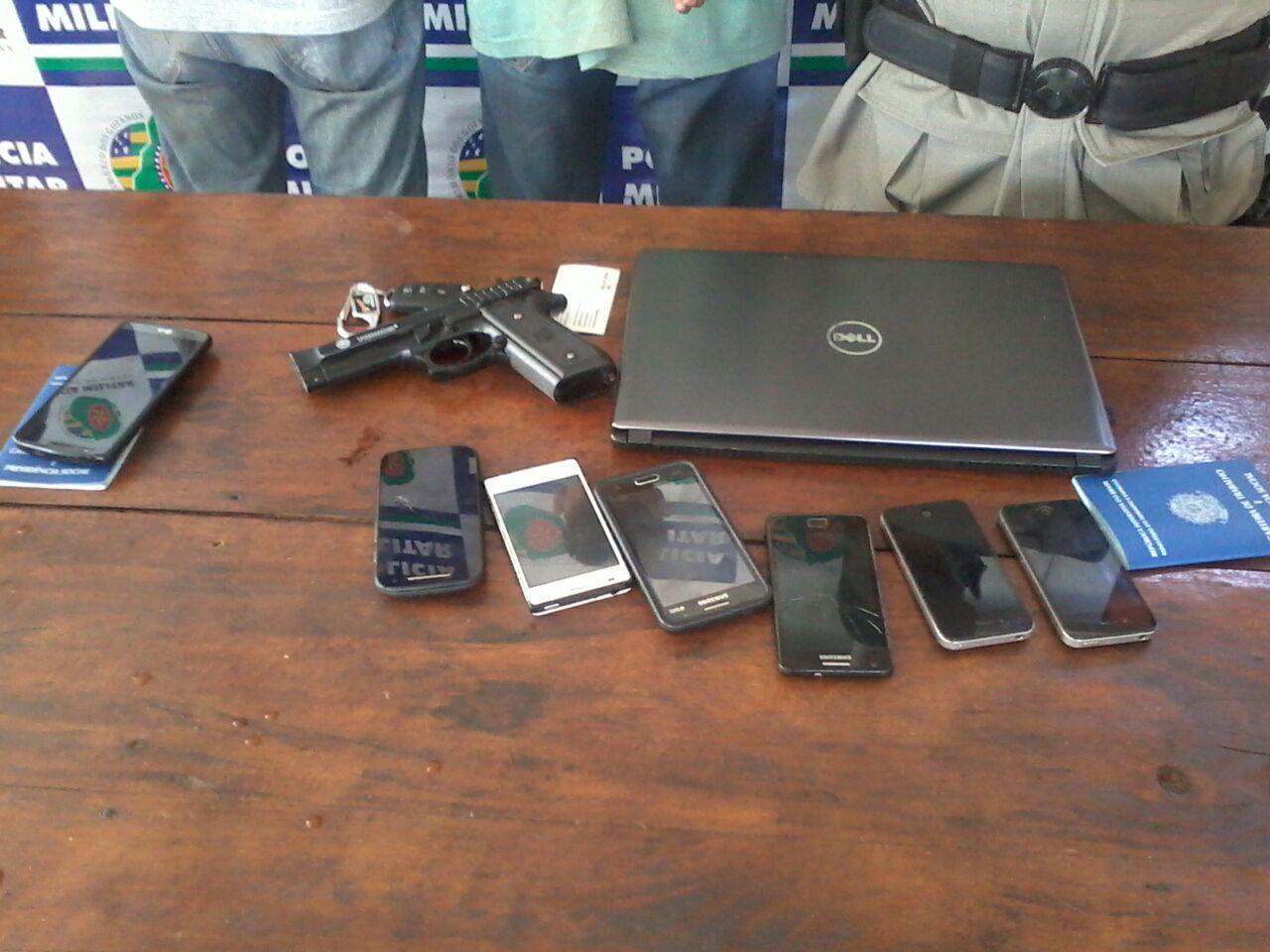 Menores são apreendidos suspeitos de diversos roubos no Madre Germana 1, em Goiânia