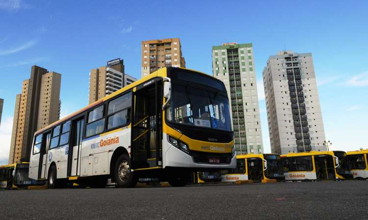 Ônibus menos poluentes serão entregues em Goiânia nesta quinta-feira