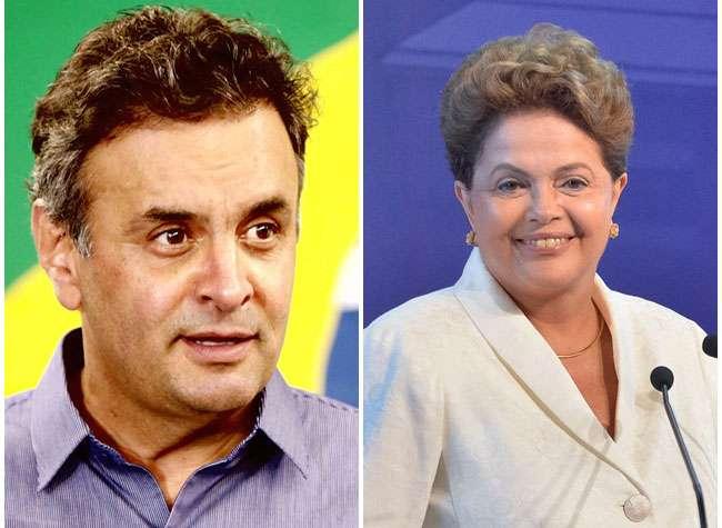 Datafolha: Aécio e Dilma continuam em empate técnico