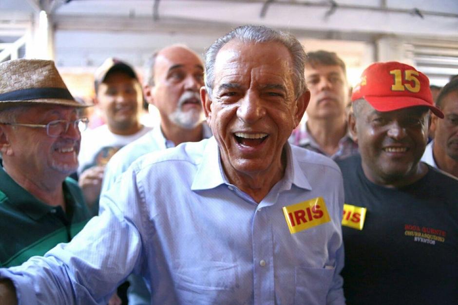 Pela quarta vez, Iris Rezende é eleito prefeito de Goiânia