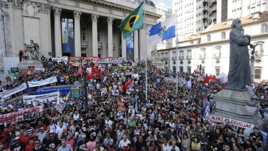 Governo do Rio parcela salários de novembro em até nove vezes