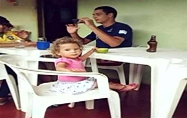 Sem querer, mãe atropela filha de dois anos em Quirinópolis
