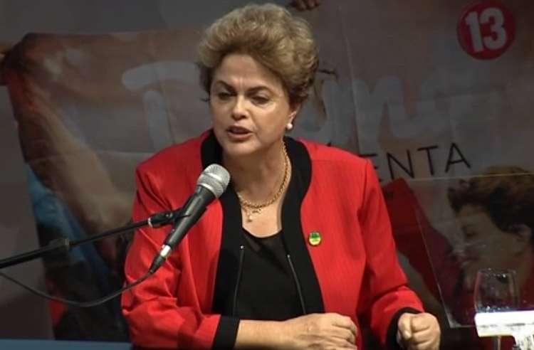 Dilma vê golpismo e diz que não há fato para impeachment