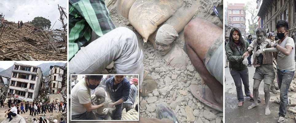 Nepal e Índia contam 1.196 mortes no terremoto