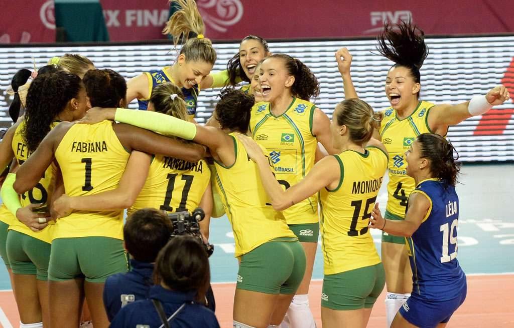 Brasil derrota Japão e fatura 10º título do Grand Prix