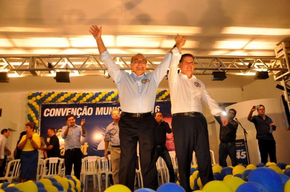 PSDB oficializa a candidatura de Jânio Darrot à reeleição em Trindade