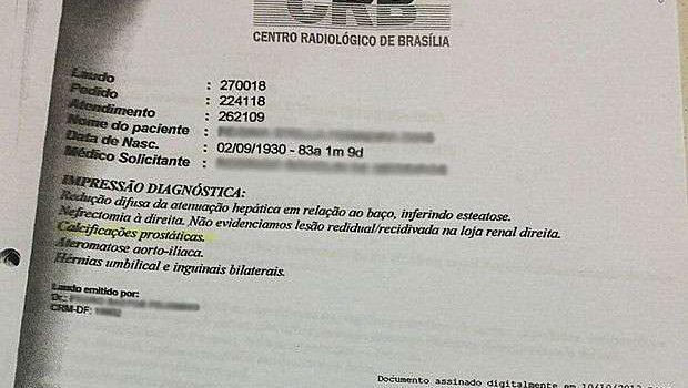 DF: Mulher 'ganha' próstata em laudo médico