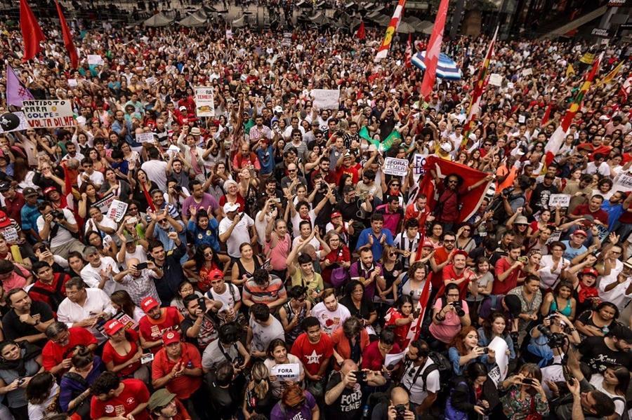 São Paulo tem novo ato contra Michel Temer e a favor de novas eleições