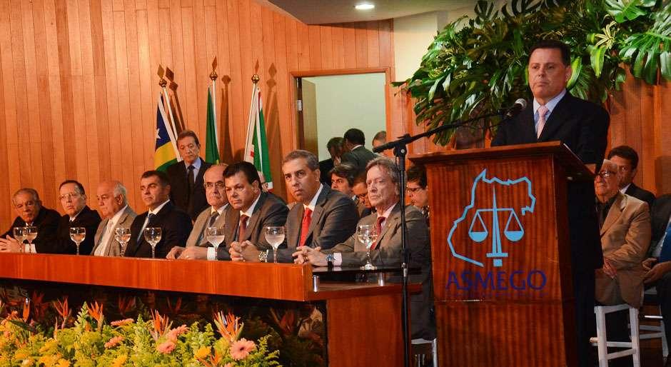 Em posse da Asmego, Marconi ressalta importância do Judiciário no enfrentamento da crise brasileira