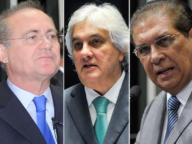 Supremo abre inquéritos para investigar Renan, Jader Barbalho e Delcídio