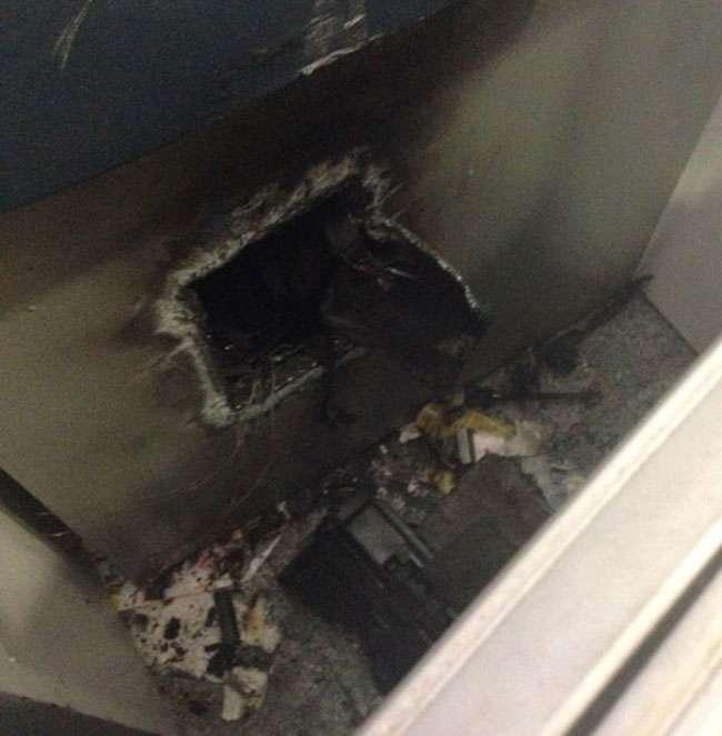 Bandidos invadem agência bancária em Goiânia e arrombam caixa eletrônico