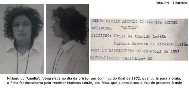 Míriam Leitão relata tortura sofrida durante a ditadura