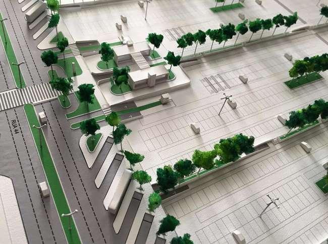 Área da Praça do Trabalhador pode virar estacionamento