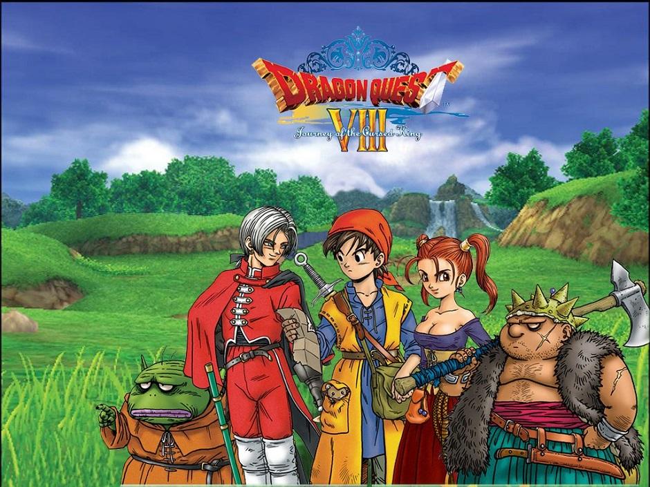 Dragon Quest VIII ganha data de lançamento no 3DS