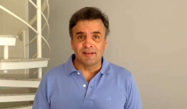 Aécio teria usado aeronaves oficiais após deixar governo de Minas Gerais