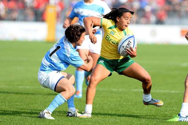 Seleção Brasileira de rúgbi feminino bate a Argentina e leva o bronze
