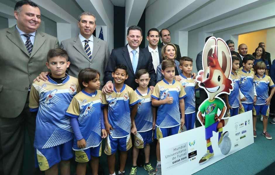 Goiás será sede da 15ª edição do Campeonato Mundial de Futsal Universitário entre os dias 3 e 10 de julho