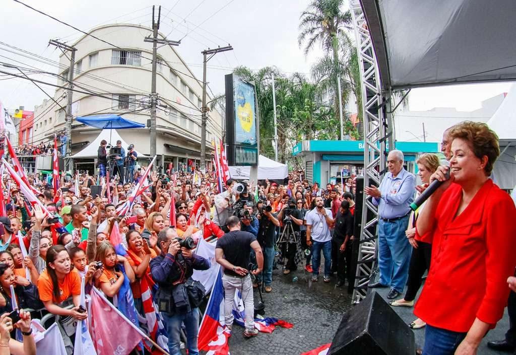 Dilma: Bolsa Família vai acabar se 'eles' forem eleitos