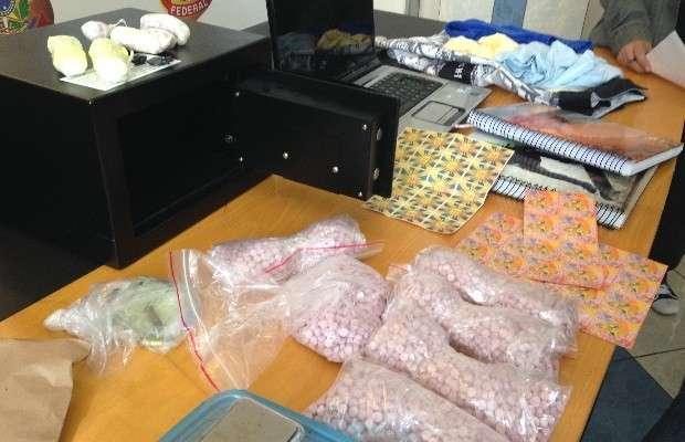 Estudante de 24 anos é preso suspeito de traficar drogas pelos Correios