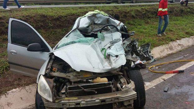 Pastor evangélico morre em acidente na BR-060