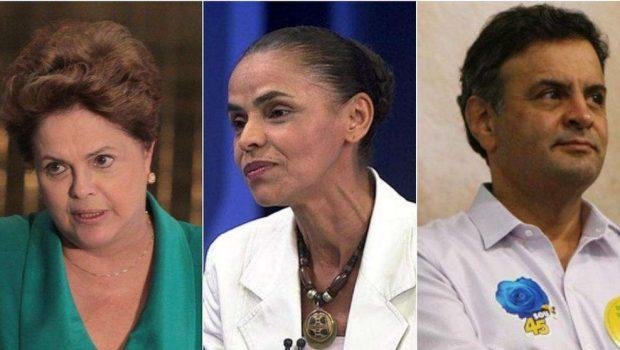 Datafolha: Dilma oscila de 36% para 37%; Marina tem 30%