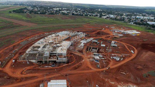 Novo terminal de passageiros do Aeroporto de Goiânia não tem como receber aviões