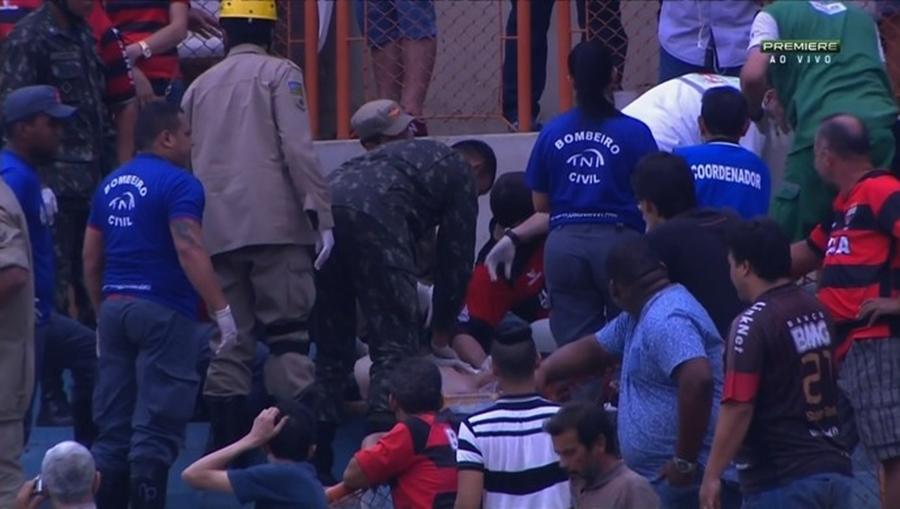 Torcedor morre após passar mal durante jogo no Serra Dourada