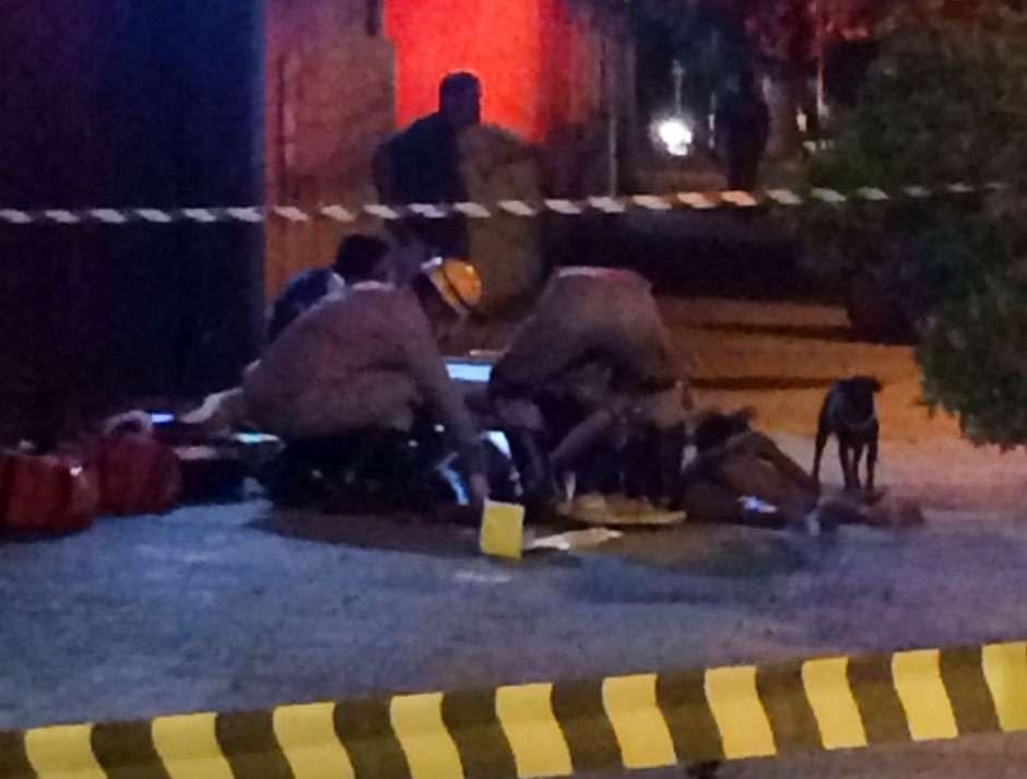 Três pessoas são baleadas no centro de Goiânia; assista