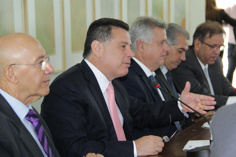 Marconi diz que governadores do Brasil Central  focam em uma agenda positiva para o Brasil