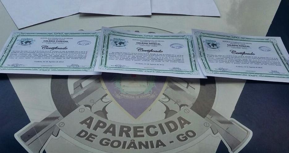 Homem suspeito de vender diplomas falsos é preso em Aparecida de Goiânia