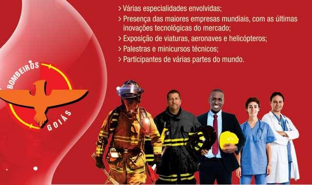 Goiânia sedia 15ª edição do maior evento de combate a incêncios do país
