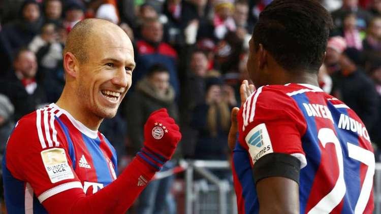 Bayern vence a primeira em 2015 no Alemão e segue folgado na liderança