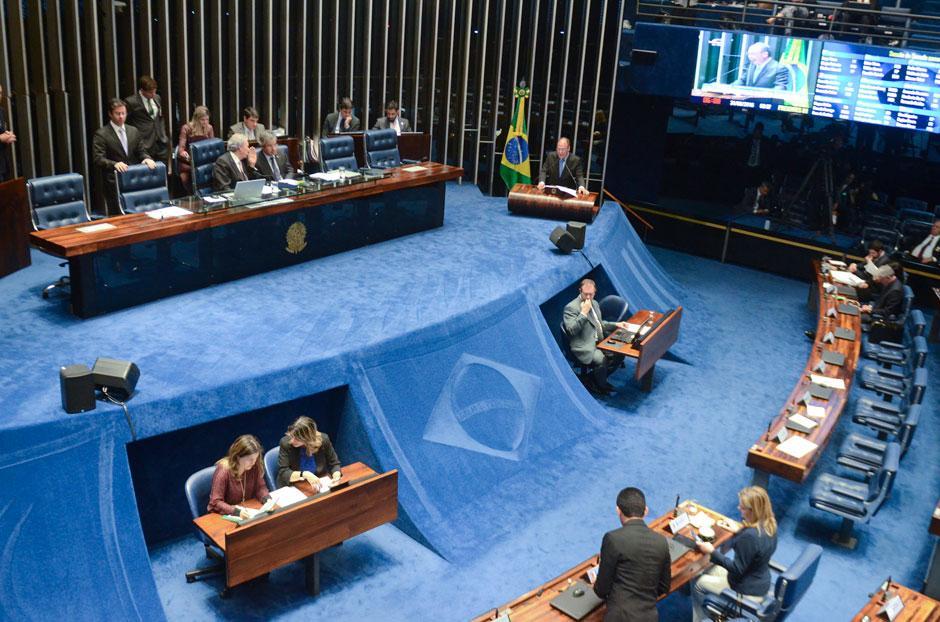 Senado votará separadamente cassação e perda de direitos políticos de Dilma
