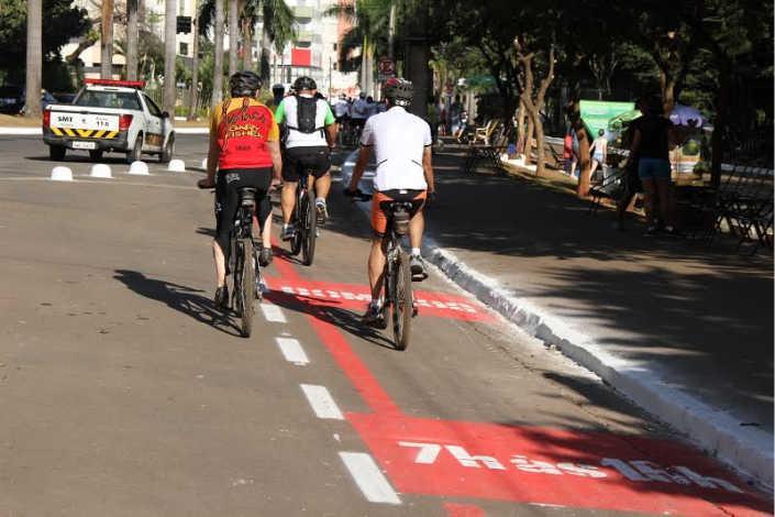 Jardim Botânico terá ciclofaixa permanente