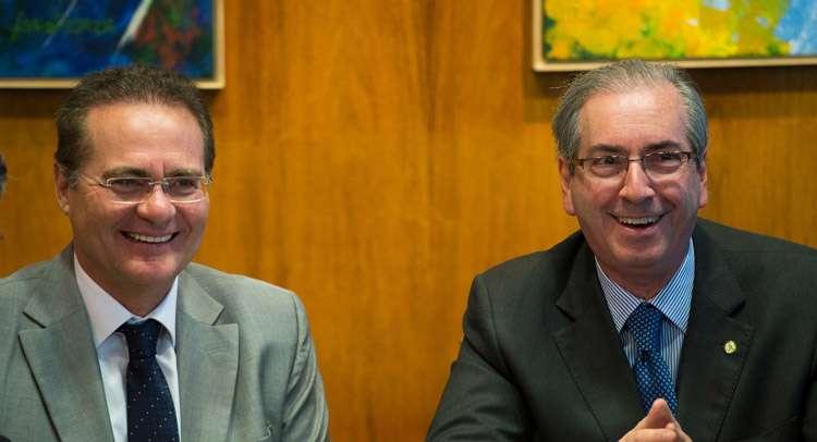 Cunha e Renan anunciam proposta para Lei de Responsabilidade das Estatais