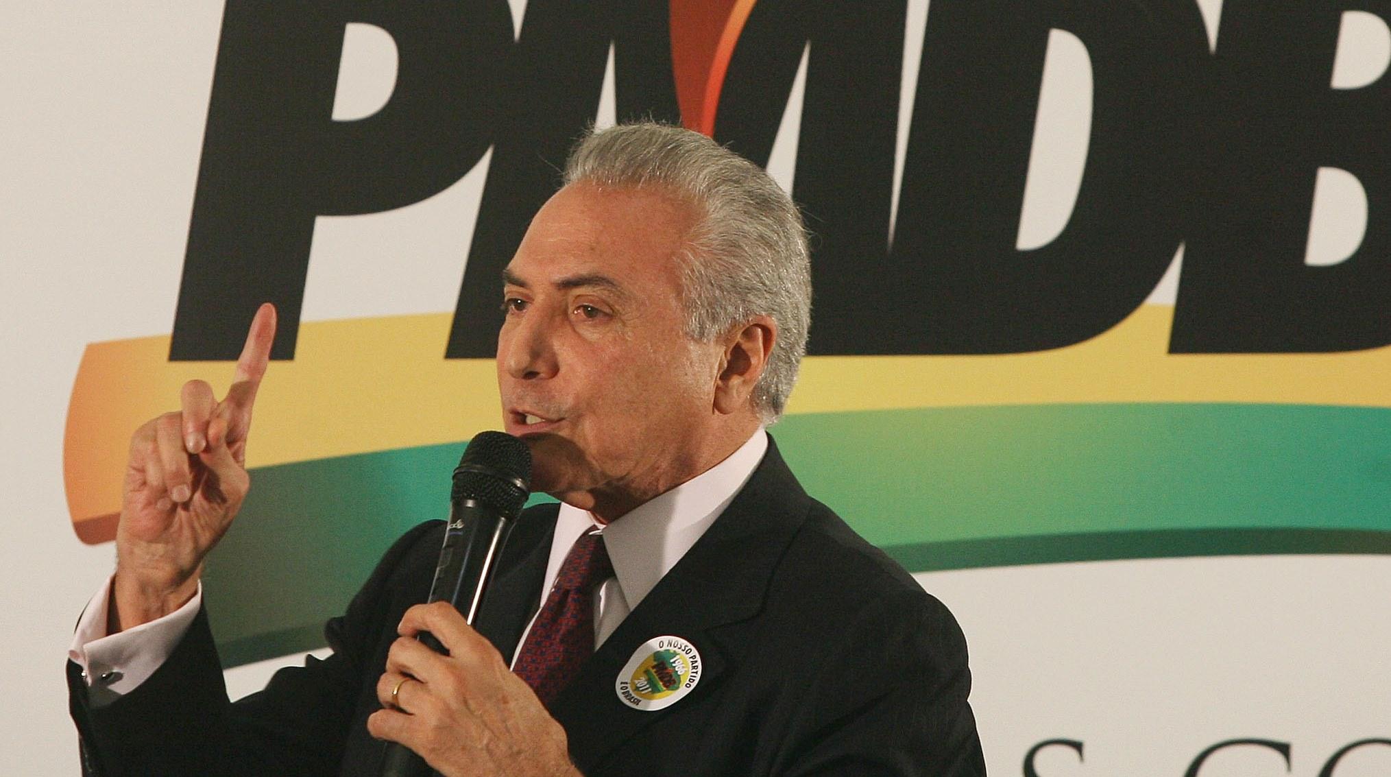 PMDB fica mais perto de fechar questão sobre reforma da Previdência