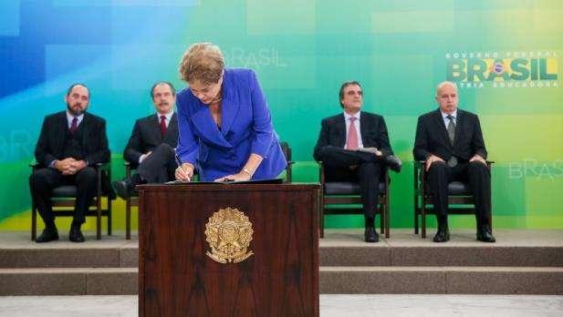 Dilma ressalta que o Brasil precisa afastar estigma de levar vantagem em tudo