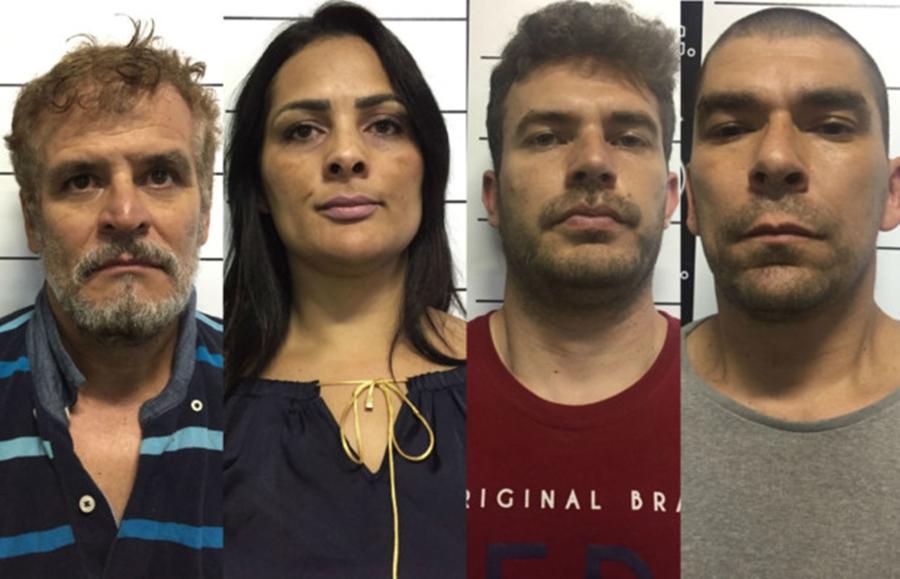 Quadrilha que aplicou golpe milionário em Goiânia é presa no Sul do país