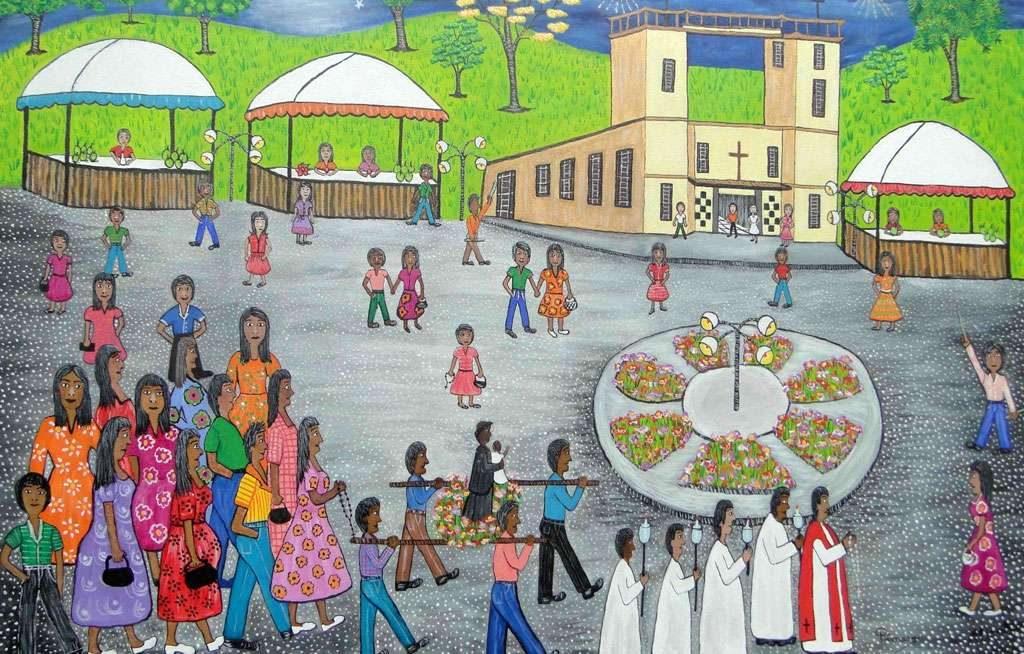 Palácio da Cultura recebe exposição Festas e Danças