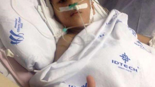 Piora o estado de saúde do gêmeo siamês Heitor, diz hospital