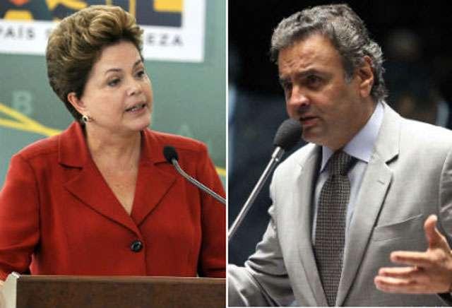 CNI/Ibope: Dilma lidera com 39% seguida de Aécio com 21%