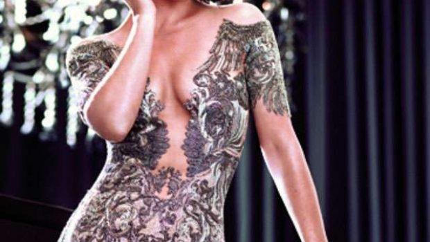 De visual novo, Evangeline Lilly posa para ensaio de moda